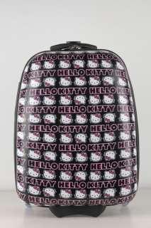 Hello Kitty Black Signature ABS Luggage 2437