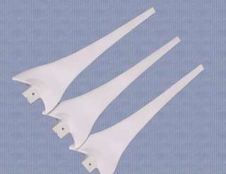 what you get 1 wind turbine 2 3 x blades 3 wind turbine hub 4 screw