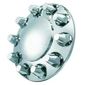 ABS Chrome Front Wheel Axle Cover With Nut Cover 10 Lug
