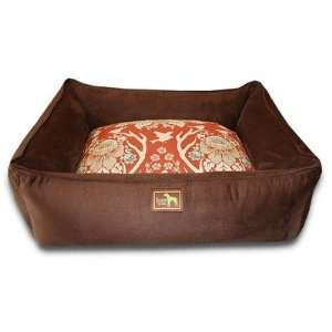 : Luca For Dogs Lounge Dog Bed in Chocolate Deer Valley: Pet Supplies