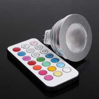 RGB Light Colorful Bulb Lamp + Remote Control 2 Million Colors