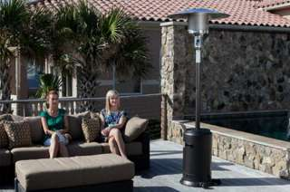 New Commercial 46,000 BTU Propane Patio Deck Heater 89 Tall Outdoor