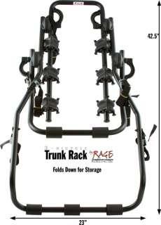 BIKE TRUNK MOUNT SUV CARRIER RACK HATCHBACK CAR RACKS