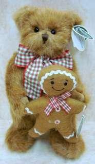 BEARINGTON Gingerbread Man PLUSH 2011 CHRISTMAS 173165