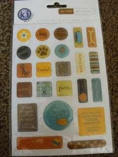 Shop Gel Candy Stickers, Bone Purr Tweet Dog Chirp Woof T41M
