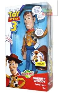Toy Story 3 Talking Sheriff Woody Doll Action Figure
