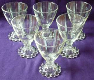 Anchor Hocking BOOPIE Stem LIQUOR COCKTAIL GLASSES Etched Grapes