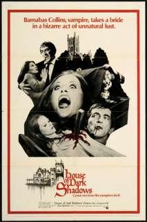 House of Dark Shadows 1970 Original U.S. One Sheet Movie Poster