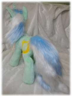 Handmade minky custom plush My Little Pony MLP FIM Lyra Heartstrings