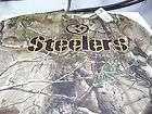 PITTSBURGH STEELERS HUNTING SHIRT ADULT SIZE 2XL NEW NICE REEBOK $
