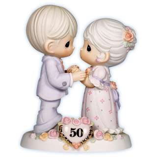 Precious Moments Anniversary Figurines We Share A Love Forever Young