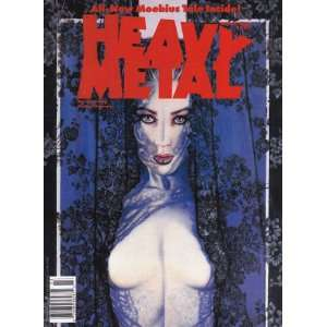 Heavy Metal Magazine March 1990 Julie Simmons Lynch