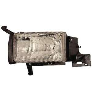 94 01 DODGE RAM PICKUP Left Headlight (W/O CORNER LAMP) (1994 94 1995