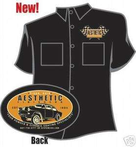 Aesthetic Finishers 55 Chevy Gasser Hot Rod Workshirt