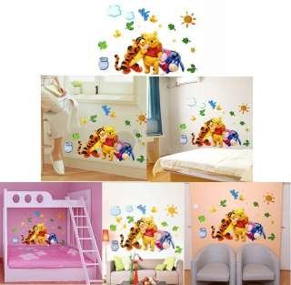 Winnie The Pooh Baby Nursery Room Wall Sticker