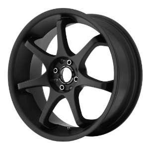 Motegi MR125 18x9 Black Wheel / Rim 5x4.5 with a 35mm Offset and a 72
