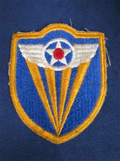 Vintage WWII US Air Force Patch Wings Shield Star Army