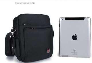 New Vertical Shoulder Messenger Bag for Apple Ipad 2, Multiple Pocket