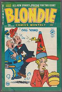 Blondie Comics Monthly #28 by Chic Young Harvey File Copy