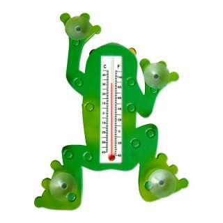 Creek Indoor Outdoor Frog Designed Window Thermometer 5020