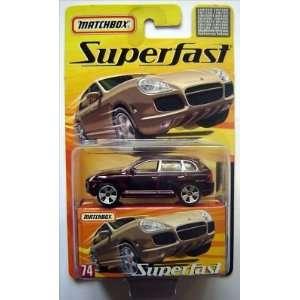 Matchbox Superfast Porsche Cayenne Turbo   Limited Ed