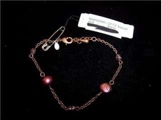 Premier Design Jewelry Raspberry CP 7.5 bracelet 5540