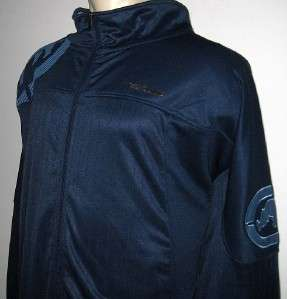 NEW 5XB ECKO MENS TRACK JACKET Navy Blue Coat 5XL 5X