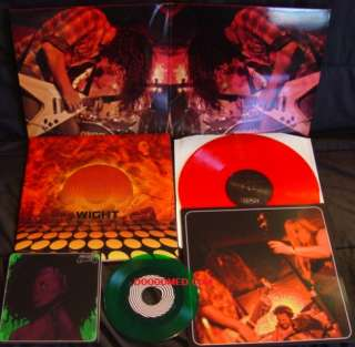 WIGHT  WIGHT WEEDY WIGHT LP+7 BLACK SABBATH GOATSNAKE EARTH 35007