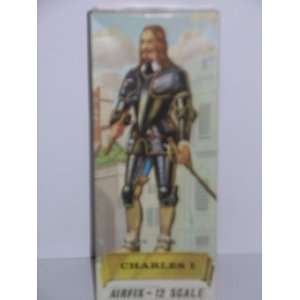 Airfix Figure of Charles I King of Great Britain (1600 1649) Plastic