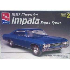 AMT 1967 Chevrolet Impala SS Model Kit NEW MISB