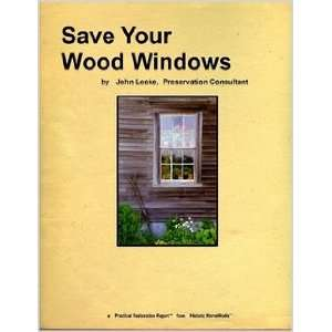 Your Wood Windows, an alternative to vinyl replacement windows Books