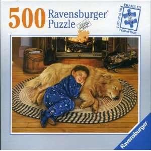 Jigsaw Puzzle,Golden Labrador Dog   Boys Best Friend Toys & Games