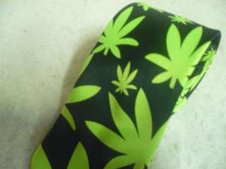 Wholesale 3 Marijuana Rockabilly Weed Neck Tie Punk