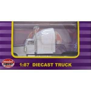 20101 1/87 Peterbilt Semi Truck Cab White HO Toys & Games