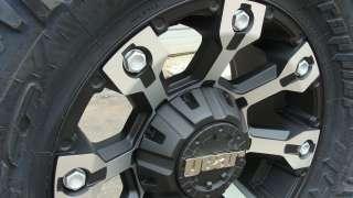 Gear Alloy 719 Black Machine Nitto Trail MT 35x12.50 18