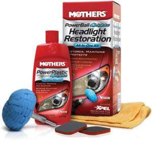 Mothers Powerball for Headlights Restoration Kit 7250