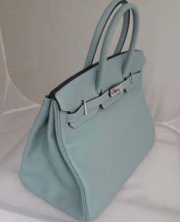 HERMES BIRKIN 35CM 35 CIEL POWDER BLUE BRAND NEW JUST ARRIVED..SO