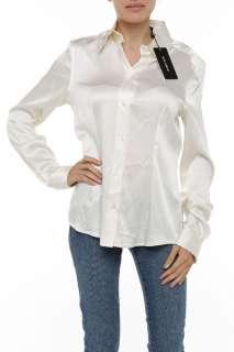 New $795 Dolce & Gabbana Womens Top Blouse Shirt Size 46 NWT 3314