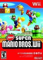 New Super Mario Bros. Wii (Wii) BRAND NEW