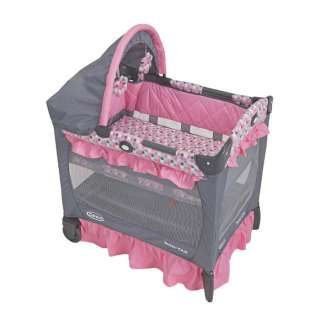 Graco Baby Travel Lite Portable Lightweight Crib   Ally 047406108817