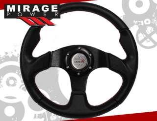 universal 320mm racing steering wheel leather brand new in original
