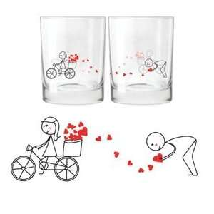for You Drinking Glass Set Ideal Anniversary Gifts, Birthday Gifts