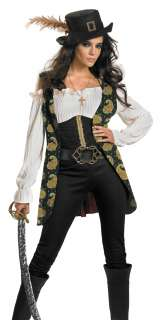 Pirates of the Caribbean Angelica Fancy Dress Halloween Costume