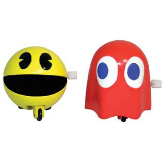 Pac man & Ghost Wind Up Toys, Gifts, Stocking Fillers