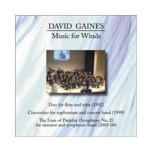 Music for Winds David Gaines Music