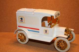 Ertl 1913 Ford Model T Delivery Diecast Bank US Mail LE