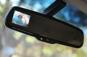 Toyota Tundra Auto Dim Rear View Mirror LCD BACKUP CAMERA DISP
