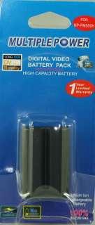 Multi Power Digital Battery Pack NP FM500H For Sony DSLR A350 DSLR