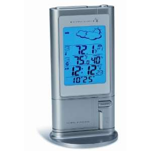 Wireless Weather Station with Atomic Clock and Temperature Alarm