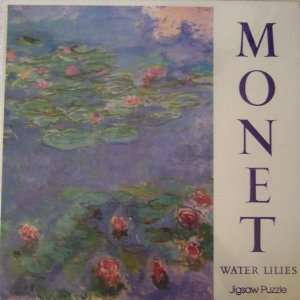 Monet Water Lilies 500+ Piece Jigsaw Puzzle Toys & Games